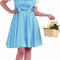 Plus-Size Wizard Of Oz Deluxe Dorothy Costume