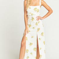Bristol Dress ~ Sunny Side Floral