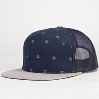 Kr3w Angle Mens Trucker Hat Navy One Size For Men 23290621001