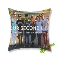 Our Second Life Square Pillow Cover