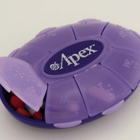 Weekly Pill Turtle By Apex Healthcare Products (Assorted Colors)