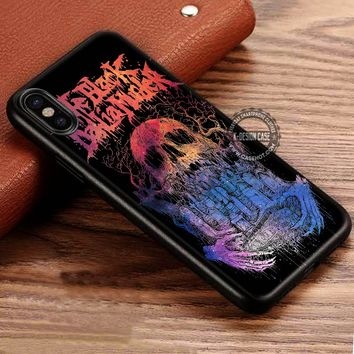 Band Logo The Black Dahlia Murder iPhone X 8 7 Plus 6s Cases Samsung Galaxy S8 Plus S7 edge NOTE 8 Covers #iphoneX #SamsungS8