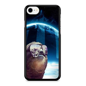 Sloth Llama Laser Iphone 8 Case