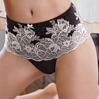 Mesh & Lace Thong Panty - Dream Angels - Victoria's Secret