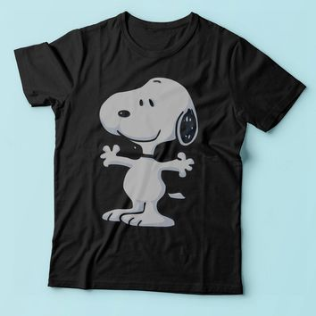 The Peanut Gang Happy Snoopy Men'S T Shirt