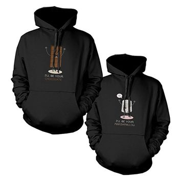 365Printing Cute Matching Hoodies For Couples Anniversary And Christmas Gifts
