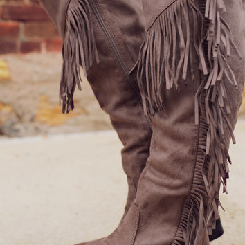 Lake Boho Boot- Taupe