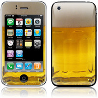 Apple iPhone 3G / 3GS Skin Cover Beer Mug by stickitskins on Etsy