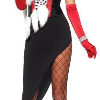 Cruel Diva 5 Piece Women's Halloween costume