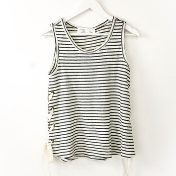 Side Lace Up Tank