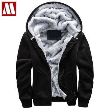 Trendy 2018 New Bomber Jacket Men Thick Outwear Overcoat Winter Warm Mens Jackets And Coats Casual Hoodies Male Brand Clothing 4XL 5XL AT_94_13