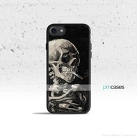Skull & Cigarette Phone Case Cover for Apple iPhone Samsung Galaxy S & Note