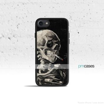 Skull & Cigarette Phone Case Cover for Apple iPhone iPod Samsung Galaxy S & Note