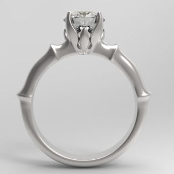 Engagement and Wedding Ring 3D CAD Design -C2