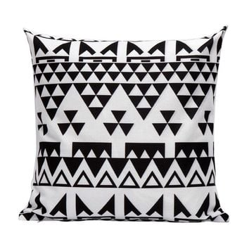 pillow covers geometric decorative throw pillows euro pillow cover Plaid pillowcase cover