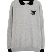 Cat Collar Sweater from CATPRINCESS CLOTHING