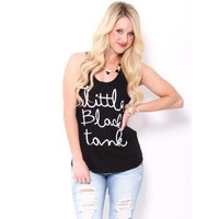 Little Black Tank  - Tops