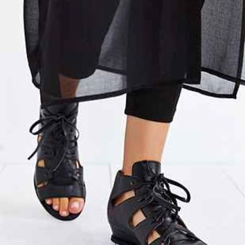 Jeffrey Campbell Diaz Mini-Wedge Sandal - Urban Outfitters