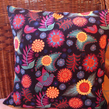 Tropical Pillow Cover Accent Pillow Cover by KaysGeneralStore