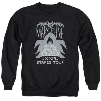 Adventure Time - Marceline Concert Adult Crewneck Sweatshirt Officially Licensed Apparel