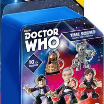 Doctor Who BBC Time Squad Character Keychain Mystery Pack Figure Wave 1 NIB