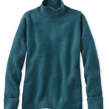 Women's Donegal Sweaters, Stand-Up Mock-Neck | Free Shipping at L.L.Bean.