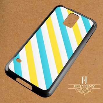 Yellow Blue Line Samsung Galaxy S3 S4 S5 S6 S6 Edge Case | Galaxy Note 3 4 Case