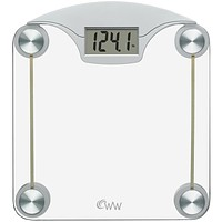 Conair Weight Watchers Digital Glass & Chrome Scale