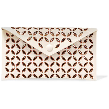 Alaïa - Laser-cut leather pouch