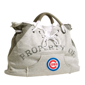 Chicago Cubs MLB Property Of Hoodie Tote