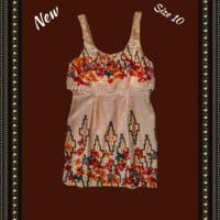 Free People  lined dress size 10
