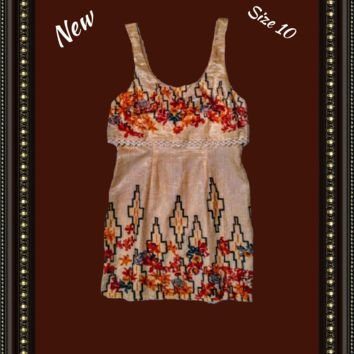Copy of Free People  lined dress size 10