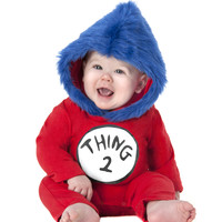 Dr. Seuss Thing 2 Boy Baby Costume – Spirit Halloween