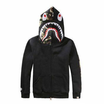 DCCKHQ6 Shark Fashion Hoodies Jacket