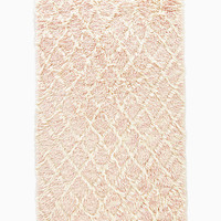 heights diamond shag rug