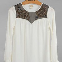 Daytrip Embellished Top