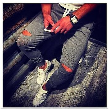 Mens BASIC JOGGER Pants Fleece Active Urban Harem Slim Fit Elastic Hip hop Dance