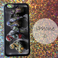 Teenage Mutant Ninja Turtles - cover case for iPhone 4|4S|5|5C|5S|6|6 Plus Note 2|3 Samsung Galaxy S3|S4|S5 Htc One M7|M8