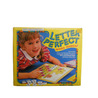 Vintage Board Game Letter Perfect 1980s Educational Game Alphabet Reading and Vocabulary Building - New Old Stock - Ages 4 and Up