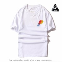 Palace Short Sleeve Cotton Skateboard T-shirts [419618029604]