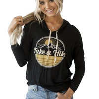 Women's Fashion Sports Print Long Sleeve Hoodies [11182508231]