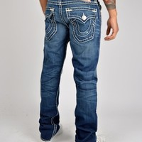 True Religion - Ricky Super T Straight Jeans