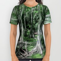 A Secret Place All Over Print Shirt by Gwendalyn Abrams