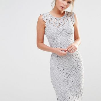 Paper Dolls Allover Lace Dress at asos.com