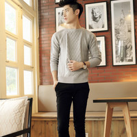 Mens Trendy Winter Sweater