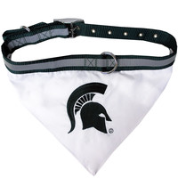 Michigan State Spartans (MSU) Collar Bandana