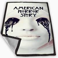 American Horror Story Season 3 Asylum Blanket for Kids Blanket, Fleece Blanket Cute and Awesome Blanket for your bedding, Blanket fleece *