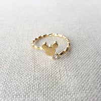 mickey ring is limited / so cute / lovely /with by stylesome1
