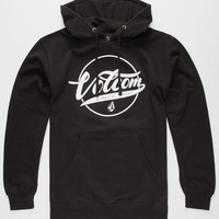 Volcom Todaze Mens Hoodie Black  In Sizes
