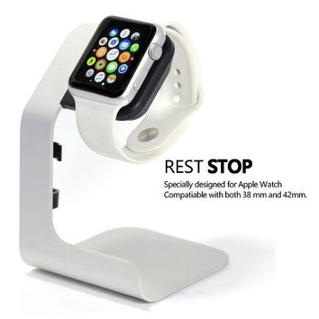 VONL8T Apple Watch Stand-Tranesca Apple charging stand for 38mm and 42mm Apple watch ( Must have Apple watch Accessories)
